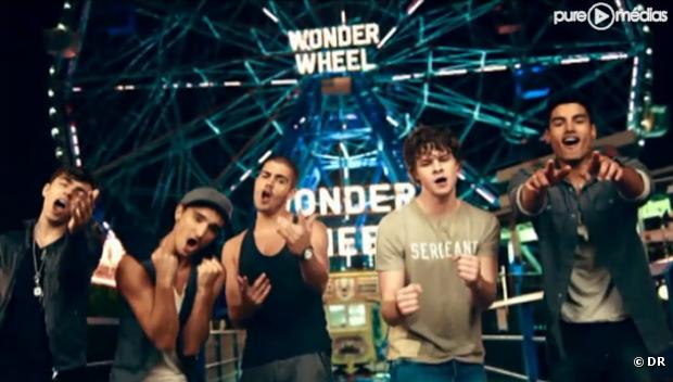 "The Wanted dans le clip de ""Lose My Mind"""