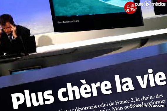 Le magazine Capital de janvier 2011.
