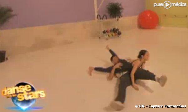 """Sofia Essaïdi et son danseur Maxime pour """"Danse avec les stars"""""""