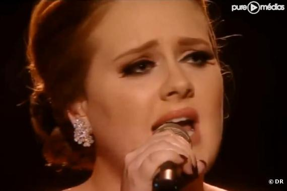 Adele aux Brit Awards 2011