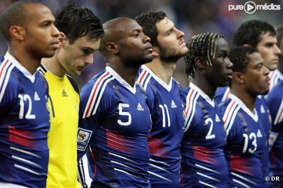 L'Equipe de France de foot en 2009
