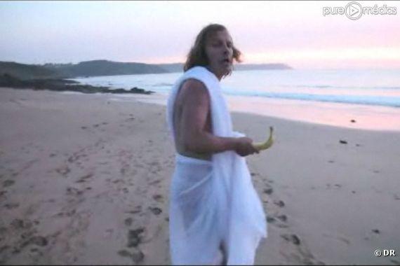 """Katerine dans le clip de """"La banane"""""""