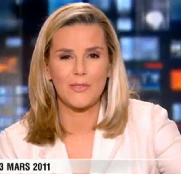 Laurence Ferrari, le 3 mars 2011 sur TF1