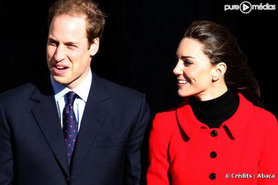 Le Prince Williams et Kate Middleton