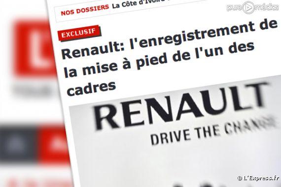Renault l 39 publie l 39 enregistrement de la mise - Bureau enregistrement des entreprises ...