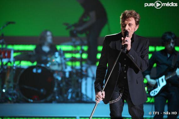 """""""Le Show Johnny"""" diffusé le 25 mars 2011 sur TF1"""
