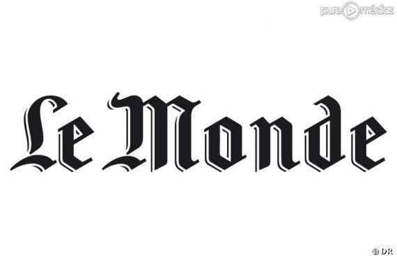 """Le logo du journal """"Le Monde""""."""