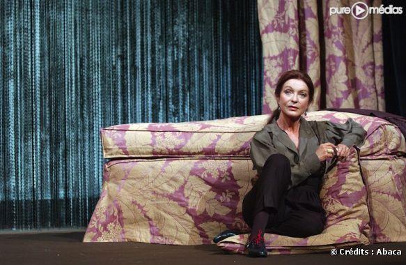 Marie-France Pisier, au théâtre, en 2004