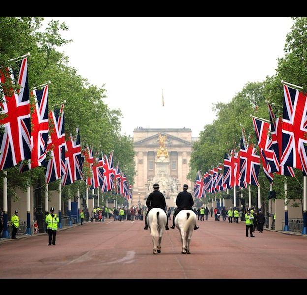 Londres pour le mariage de Kate et William