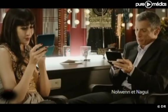 Nagui et Nolwenn