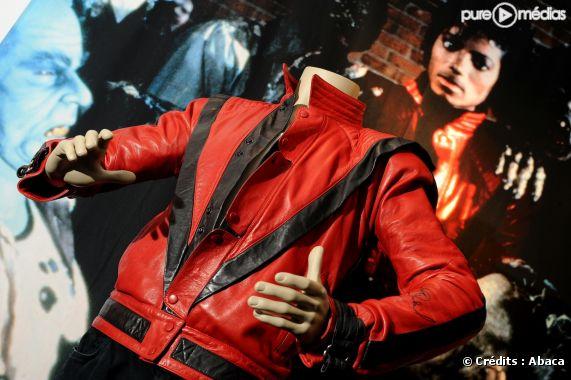 """Blouson en cuir porté par Michael Jackson dans le clip de """"Thriller"""""""