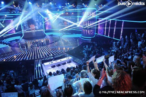 Le plateau de ''X-Factor''