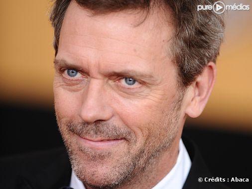 Hugh Laurie, janvier 2009