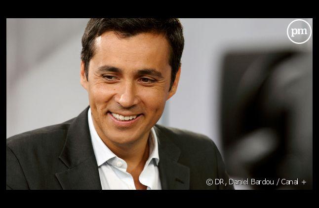 Olivier Galzi, nouvel anchorman des soirées d'i-TELE le week-end.