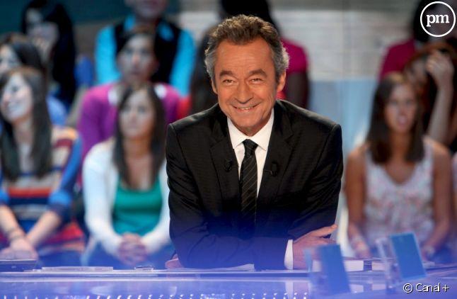 """Michel Denisot sur le plateau du """"Grand Journal"""""""