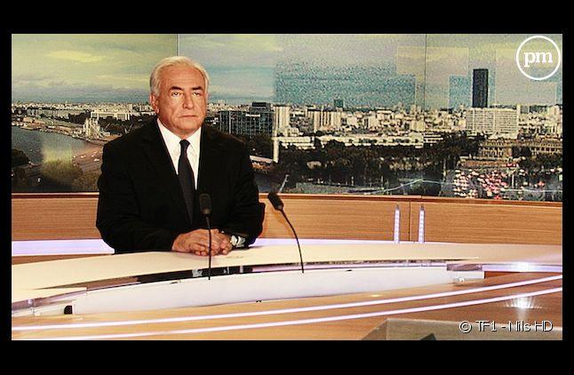 Dominique Strauss-Kahn, le 18 septembre 2011 sur TF1