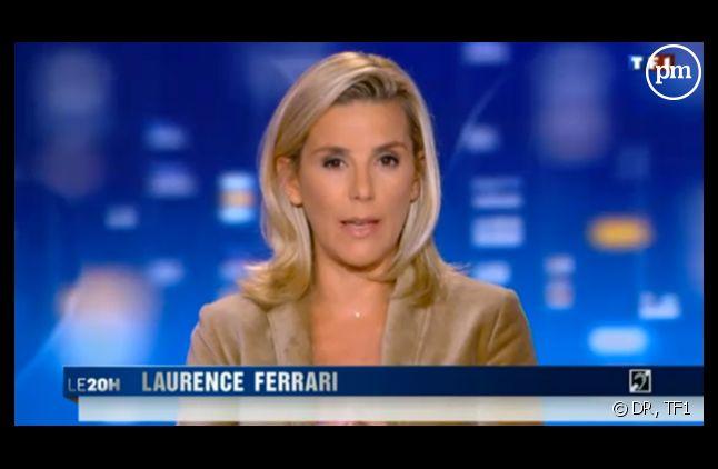 Laurence Ferrari, le 21 septembre 2011 sur TF1.