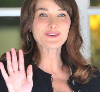 Carla Bruni interrogée par Christine Ockrent.
