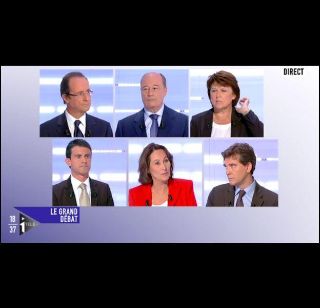 Le débat des primaires PS, organisé sur i-TELE, LCP et Europe 1.