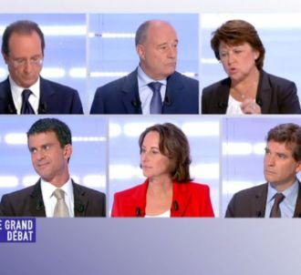 Le second débat des primaires PS.