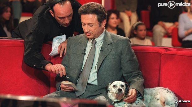 Michel Drucker, en 2000