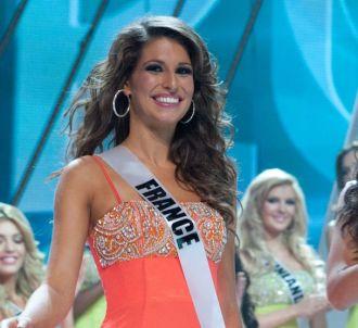 Laury Thilleman, Miss France 2011, lors du concours Miss...