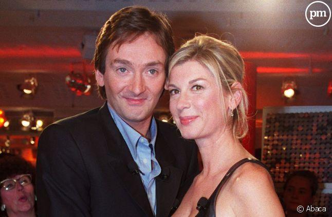 Pierre Palmade et Michèle Laroque en 2001