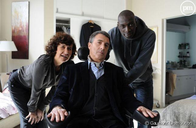 """François Cluzet et Omar Sy dans le film """"Intouchables"""""""