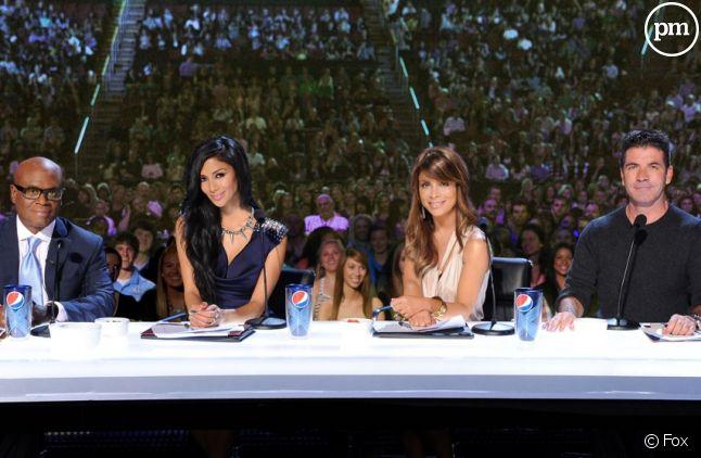 """L.A. Reid, Nicole Scherzinger, Paula Abdul et Simon Cowell sont les jurés de """"The X Factor"""" aux Etats-Unis"""