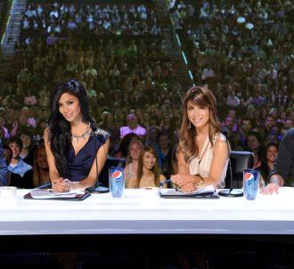 L.A. Reid, Nicole Scherzinger, Paula Abdul et Simon...