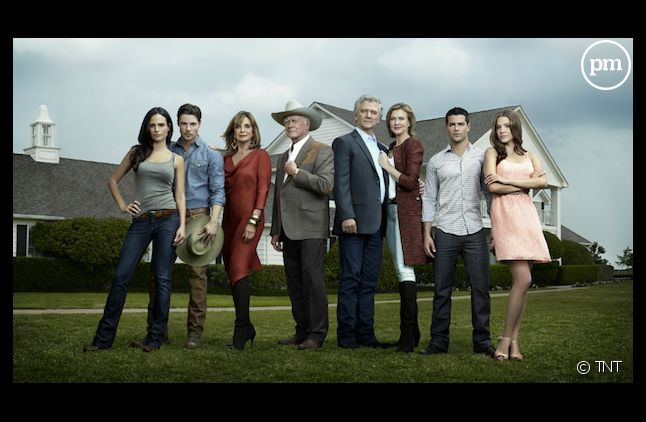 "Le cast de ""Dallas"" 2012"