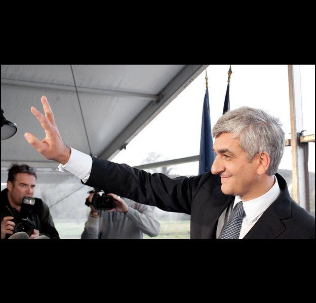 Hervé Morin, candidat à la présidence de la république.