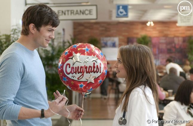 "Ashton Kutcher et Natalie Portman dans ""Sex Friends"""