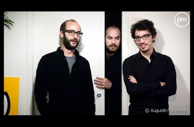 Kyan Khojandi et les auteurs de Bref.