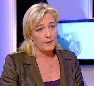 Marine Le Pen accuse Anne-Sophie Lapix de déloyauté