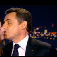 TF1 ouvre une enquête après la fuite des images de Carla Bruni embrassant Nicolas Sarkozy sur le plateau du 20H