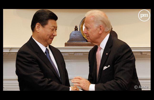 Xi Jinping et Joe Biden