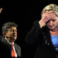 Jean-Luc Mélenchon promet un match de boxe avec Marine Le Pen ce soir sur F2