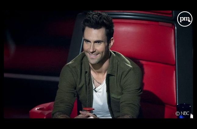 "Adam Levine dans ""The Voice"""