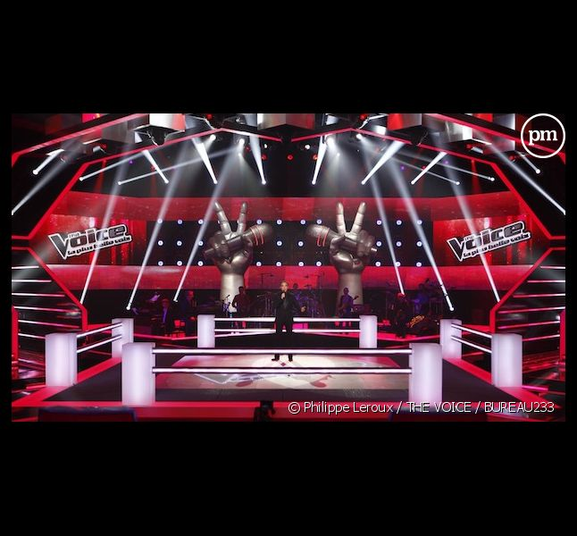 "Le ring des battles de ""The Voice"""