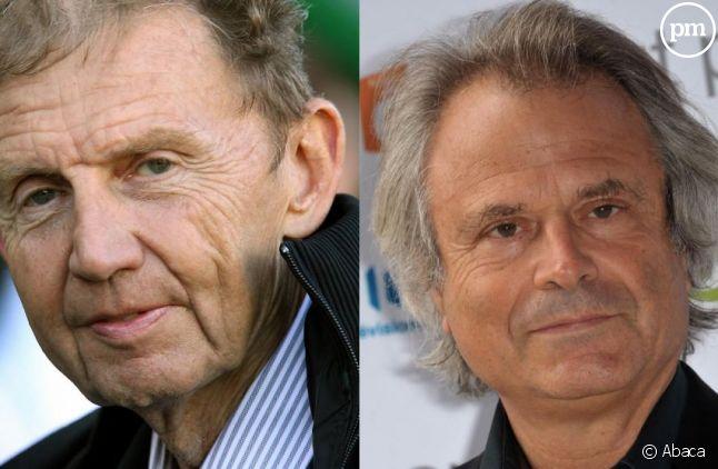 Etienne Mougeotte et Franz-Olivier Giesbert