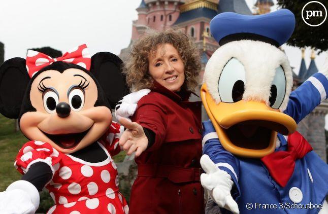 """Mireille Dumas présente """"Dans les secrets de Disneyland"""""""
