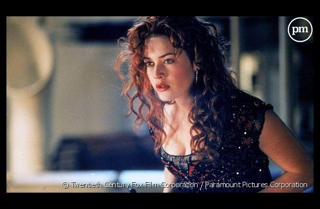 "Kate Winslet dans ""Titanic"""