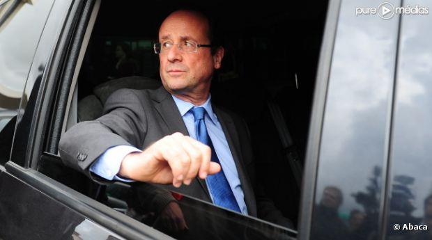 François Hollande, candidat PS à l'élection présidentielle.