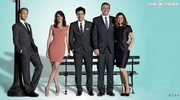 "Les acteurs de ""How I Met Your Mother"""