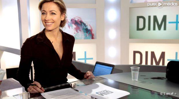 Anne-Sophie Lapix, journaliste pour Canal+.