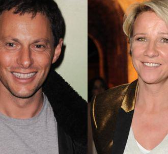 Marc-Olivier Fogiel et Ariane Massenet.