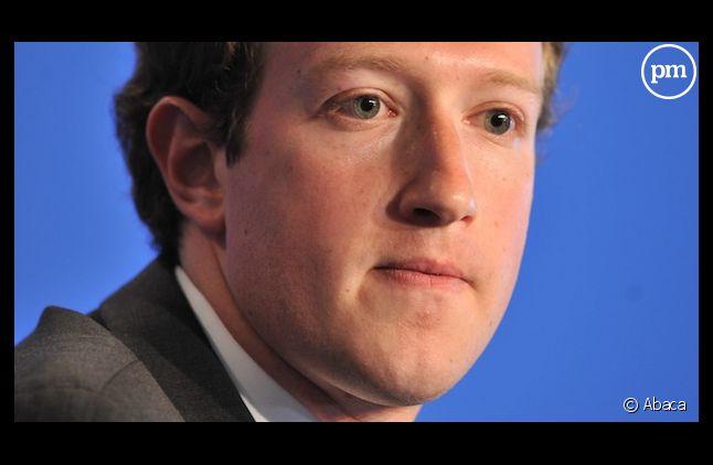 Mark Zuckerberg, le créateur de Facebook.