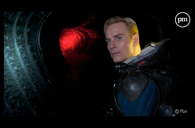 """Michael Fassbender dans """"Prometheus"""""""