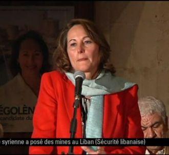 Les larmes de Ségolène Royal à La Rochelle.